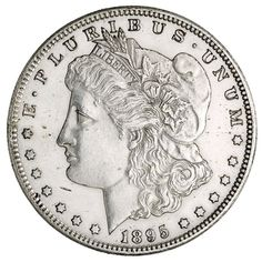 U.S. Mogan Silver dollar, San Francisco (Calif.), 1895.