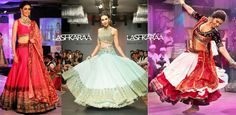 Circular Lehengas! This is a classic lehenga style that is often adopted in stylish designer #bridal #lehenga choli designs.