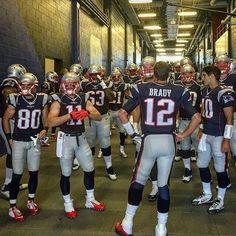 Tom Brady and the #1 New England Patriots