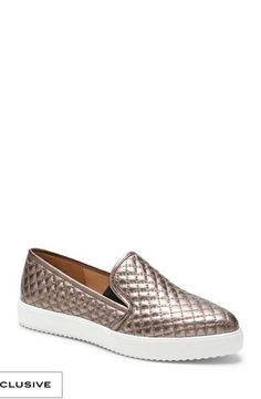 Vince Camuto Quilted Slip-on Sneaker