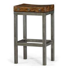 Urban industrial chic loft style #bar stool
