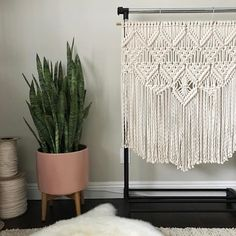 "1,359 Likes, 40 Comments - E L S I E    G O O D W I N (@reformfibers) on Instagram: ""One of my favorite wall hangings is now listed in my shop. Please tag someone who may be…"""