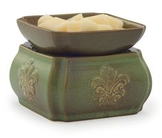 SPRING DAMASK Candle Warmer and Dish Fragrance Warmer by Candle Warmers