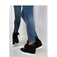 Tenisky na platforme Black Mom Jeans, Black Jeans, Adidas, Boutique, Boots, Sneakers, Fashion, Crotch Boots, Tennis