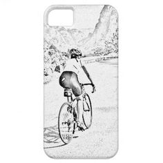 Road cyclist design #iPhone case by #yackerscreations