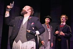 Assassins by Stephen Sondheim at the Ashby stage of the Shotgun Theater in Berkeley, 2012.