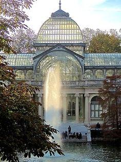 Palacio Cristal Madrid, Spain - Places to explore