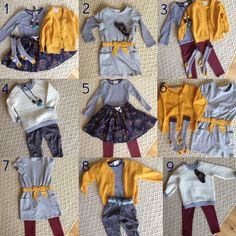 little girl's capsule wardrobe. Back-to-School closet clean out with Hanna Andersson Baby Outfits, Toddler Fall Outfits Girl, Outfits Niños, Girls Fall Outfits, Little Girl Outfits, Little Girl Fashion, Toddler Fashion, Kids Fashion, Toddler Girl Style