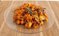 Rosemary Parmesan Sweet Potatoes~Bodybuilding.com - Never Be Bored Again: 7 Healthy Sweet Potato Recipes