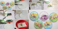 Nice Project Using Old CDs