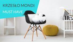 Krzesło Mondi w stylu skandynawski pasuje do wielu wnętrz.