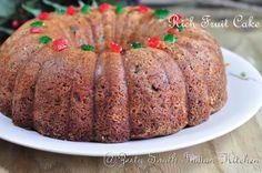 Indian style Plum cake