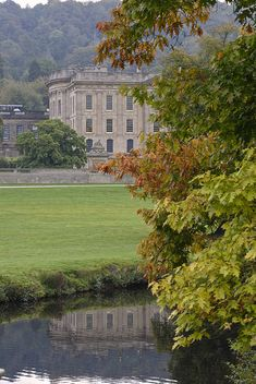 Chatsworth, UK ~ in Autumn English Country Manor, English Countryside, Monuments, Duke Of Devonshire, Chatsworth House, England And Scotland, Town And Country, Country Living, Derbyshire