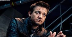 Hawkeye | Looking Down - Discouraged - Leather Jacket | Gif