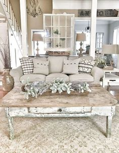 Cool 99 Modern Farmhouse Living Room Decoration Ideas. More at http://99homy.com/2018/03/13/99-modern-farmhouse-living-room-decoration-ideas/