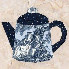 Dutch Teapot Quilt Block Pattern