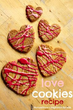 Deliciously easy cookie recipe - nice and easy Valentine snack for kids