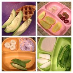 Baby Led Weaning- sample meals