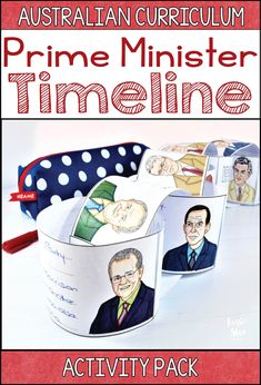 You'll find two hands-on and interactive Australian Prime Minister timelines in this pack. The Australian Curriculum for Year 5 & 6 HASS features timelines heavily and these activities are a great way to introduce your students to Australia's 30 Prime Min Persuasive Writing, Writing Rubrics, Paragraph Writing, Opinion Writing, Writing Worksheets, Primary Teaching, Primary School, Teaching Ideas, Classroom Organisation