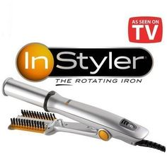 Placa-rotativa-instyler See On Tv, Straightener, Marketing, Hair, Sign, Strengthen Hair