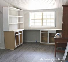 Inexpensive Ways to Create Built In Shelving