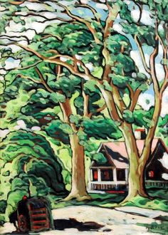 - Marc- Aurele Fortin is known and admired as the great champion of the Quebec landscape painters. Watercolor Landscape, Landscape Paintings, Landscapes, Love Painting, Painting & Drawing, Art Et Illustration, Illustrations, Images D'art, Witch Art