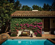 Spanish Style Homes, Spanish Revival, Spanish Colonial, Vault Doors, Artist Loft, Fancy Houses, Play Houses, Living In New York, California Homes