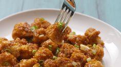 Honey-Garlic Cauliflower