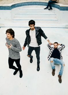 Louis, Zayn and Liam - FOUR photo shoot