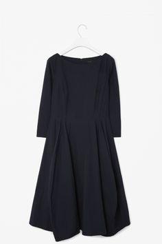 cos - a-line panel dress