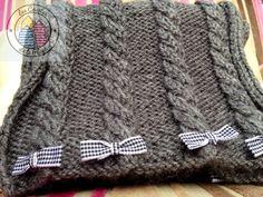 bufanda para niña
