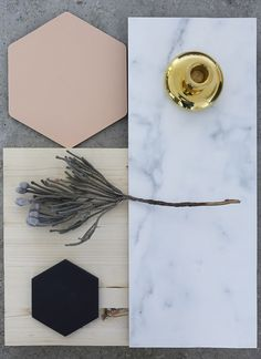 Warm material composition