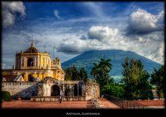 Antigua Guatemala (Agua Volcano)   By Pedro Szeke