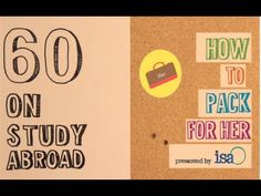 :60 On Study Abroad - How To Pack For Her @Isabel Murphy Study Abroad