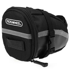 Camping Bags : Backpack and accessories :Roswheel Portable Waterproof Mountain Road Bicycle Saddle Seat Bag Bike Pouch *** See this great image  : Camping Bags Backpack and accessories