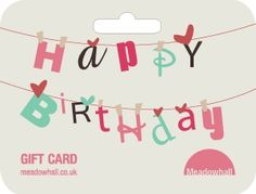 birthday gift cards - Google Search