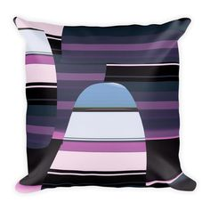It comes with a soft polyester insert that will retain its shape after many uses, a Soft Pillows, Throw Pillows, Diaper Bag, Stripes, Bags, Handbags, Cushions, Decorative Pillows, Diaper Bags