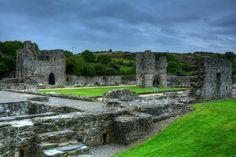 old mellifont abbey louth by Derek Bridger