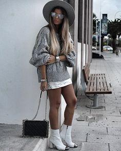 Sweater Weather @studiolabel  #stylebynelli #styleoftheday #details #ootd #knit #knitwear #bag #boots #asseenonme #blogg #fblogger