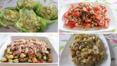 Vegetable Salad, Vegetable Recipes, Protein Salat, Food From Different Countries, New Recipes, Cooking Recipes, Dinner Salads, Side Salad, Low Calorie Recipes
