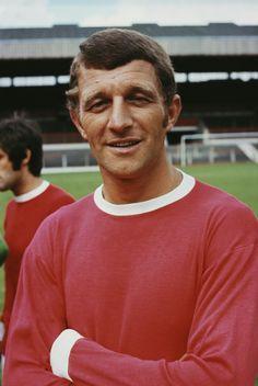 David Herd of Man Utd in 1967.