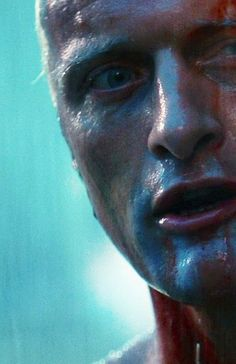 Roy Batty ( Rutger Hauer) in Blade Runner movie Film Science Fiction, Fiction Movies, Beau Film, Film Blade Runner, Blade Runner 2049, Blade Runner Actors, Blade Runner Poster, Harrison Ford, Roy Batty
