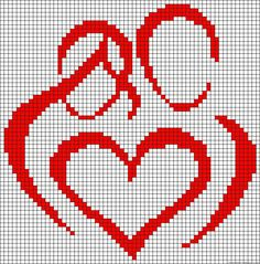 DIY and Crafts for Your Creative Mind: family love cross stitch or beading… Wedding Cross Stitch, Cross Stitch Heart, Beaded Cross Stitch, Counted Cross Stitch Patterns, Cross Stitch Designs, Cross Stitch Embroidery, Pixel Crochet, Crochet Chart, C2c