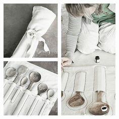 lepelzakken van Sukha atelier bij Sukha Amsterdam