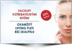 Facelift vstřebatelnými nitěmi - Medical Institut