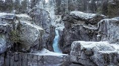The first waterfall of Nairn Falls - Pemberton - Canada