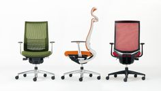 Bezel [ベゼル] 前傾から後傾までさまざまな姿勢サポート機能の充実と空間親和性の高いシンプルなデザインを両立。
