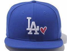 Dodgers Heart 9Fifty Snapback Cap by NEW ERA