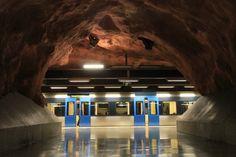 METRO - Stockholm / stacja Rådhuset w Sztokholmie