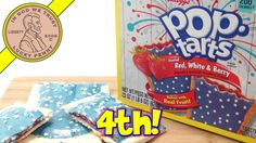 Limited Edition Red, White & Berry Pop Tarts, Popping With Flavor!  #PopTarts #ForthJuly #RedWhiteBlue #LimitedEdition